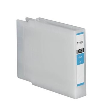 Compatible Epson T7552 Cyan High Capacity Ink Cartridge