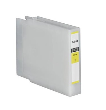 Compatible Epson T7554 Yellow High Capacity Ink Cartridge