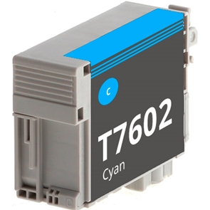 Compatible Epson T7602 Cyan Ink Cartridge