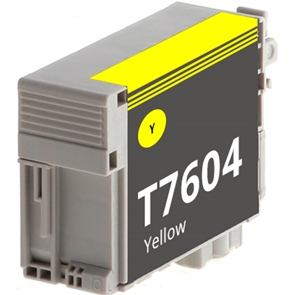 Compatible Epson T7604 Yellow Ink Cartridge