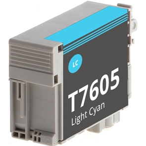 Compatible Epson T7605 Light Cyan Ink Cartridge