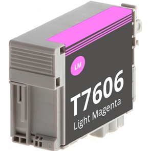 Compatible Epson T7606 Light Magenta Ink Cartridge