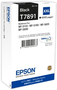 Epson Original T7891XXL Black Extra High Capacity Ink Cartridge (C13T789140)