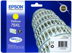 Epson Original 79XL Yellow High Capacity Ink Cartridge (C13T79044010)