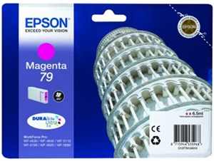 Epson Original 79 Magenta Ink Cartridge (C13T79134010)