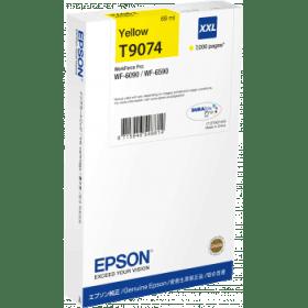 Epson Original T9074 XXL Yellow Extra High Capacity Inkjet Cartridge (C13T907440)
