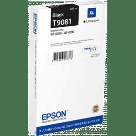 Original Epson T9081 Black High Capacity Inkjet Cartridge (C13T908140)