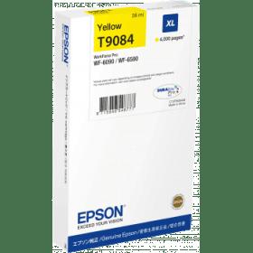 Original Epson T9084 Yellow High Capacity Inkjet Cartridge (C13T908440)
