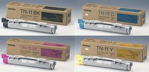Brother Original TN11 Toner Cartridge Multipack (TN11BK/TN11C/TN11M/TN11Y)