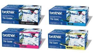 Brother Original TN130 Toner Cartridge Multipack (Black/Cyan/Magenta/Yellow)