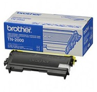Original Brother TN2000 Black Toner Cartridge