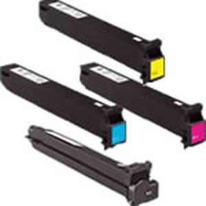 Original Konica Minolta TN611 Toner Cartridge Multipack (A070150/450/350/250)