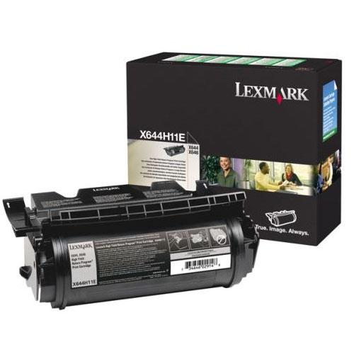 Original Lexmark X644H11E Black Toner Cartridge