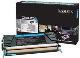 Lexmark Original X746A1CG Cyan Toner Cartridge
