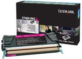 Lexmark Original X746A1MG Magenta Toner Cartridge