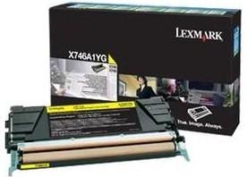 Lexmark Original X746A1YG Yellow Toner Cartridge