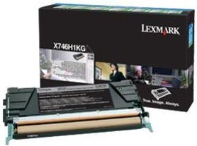 Lexmark Original X746H1KG Black High Capacity Toner Cartridge