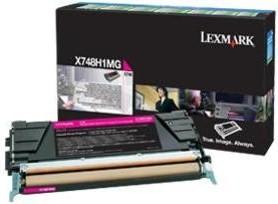 Lexmark Original X748H1MG Magenta High Capacity Toner Cartridge
