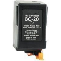 Canon BC-20 Black Remanufactured Ink Cartridge