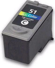 Canon CL-51 Colour Remanufactured High Capacity Ink Cartridge
