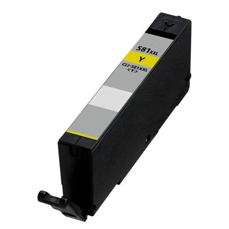 Canon Compatible CLI-581YXXL High Capacity Yellow Ink Cartridge