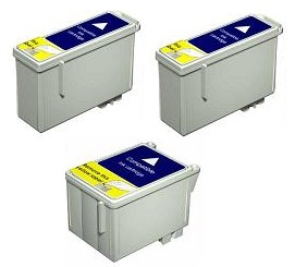 Compatible Epson T013 Black and T014 Colour Ink Cartridge + EXTRA BLACK