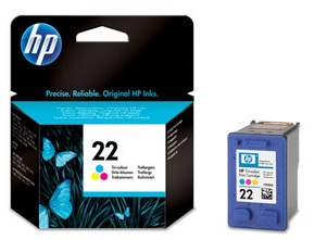HP 22 (C9352AE) Original Colour Ink Cartridge