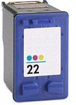 Remanufactured HP 22 (C9352AE) High Capacity Colour Ink Cartridge