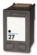 Remanufactured HP 27 Black Ink Cartridge