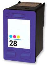 Remanufactured HP 28 Colour Ink Cartridge