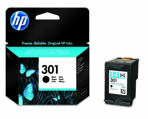 HP 301 (CH561EE) Original Standard Capacity Black Ink cartridge