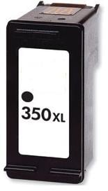 Remanufactured HP 350XL (CB336EE) Black High Capacity Ink Cartridge