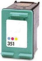 Remanufactured HP 351 (CB337EE) Colour High Capacity Ink Cartridge