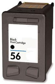 HP Original No. 56 Black Ink Cartridge [19 ml]