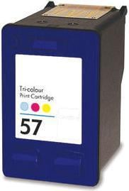 Remanufactured HP 57 (C6657AE) High Capacity Colour Ink Cartridge