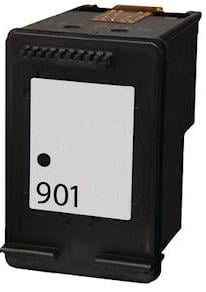 Remanufactured HP 901 (CC653aa) High Capacity Black Ink Cartridge