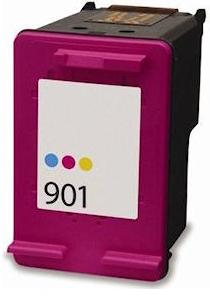 Remanufactured HP 901 (CC656aa) High Capacity Colour Ink Cartridge