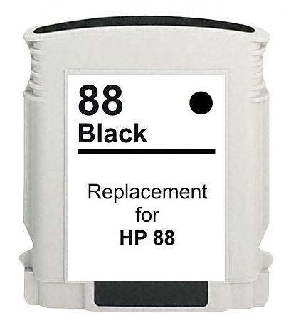 Compatible HP 88XL (C9385AE/C9396AE) High Capacity Black Ink Cartridge
