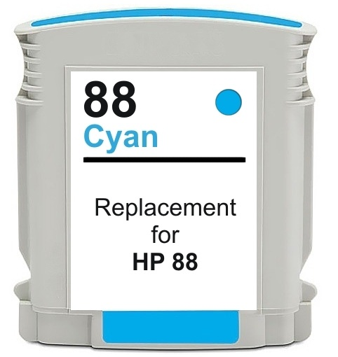 Compatible HP 88XL (C9386AE/C9391AE) High Capacity Cyan Ink Cartridge