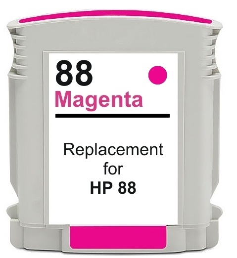 Compatible HP 88XL (C9387AE/C9392AE) High Capacity Magenta Ink Cartridge
