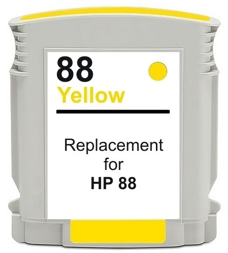 Compatible HP 88XL (C9388AE/C9393AE) High Capacity Yellow Ink Cartridge