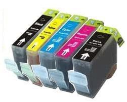 Canon BCI-3/6 Compatible Cartridges Set of (Black/ Black/Cyan/Magenta/Yellow)
