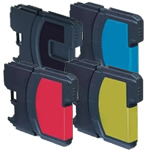 Brother LC980 Compatible Inkjet Cartridges Full Set (BCMY)