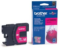 Original Brother LC980M Magenta Inkjet Cartridge