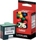 Lexmark Original 26 (10N0026) Colour Cartridge