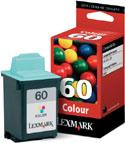 Lexmark Original 60 (17G0060) Colour Ink Cartridge