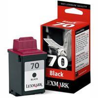 Lexmark Original 70 (12A1970) Black Cartridge