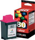 Lexmark Original 80 (12A1980) Colour Cartridge