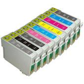 Compatible Epson T0870/T0871/T0872/T0873/T0874/T0877/T0878/T0879 Cartridges Full Set