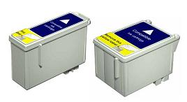 Compatible Epson T036 Black and T037 Colour Ink Cartridge